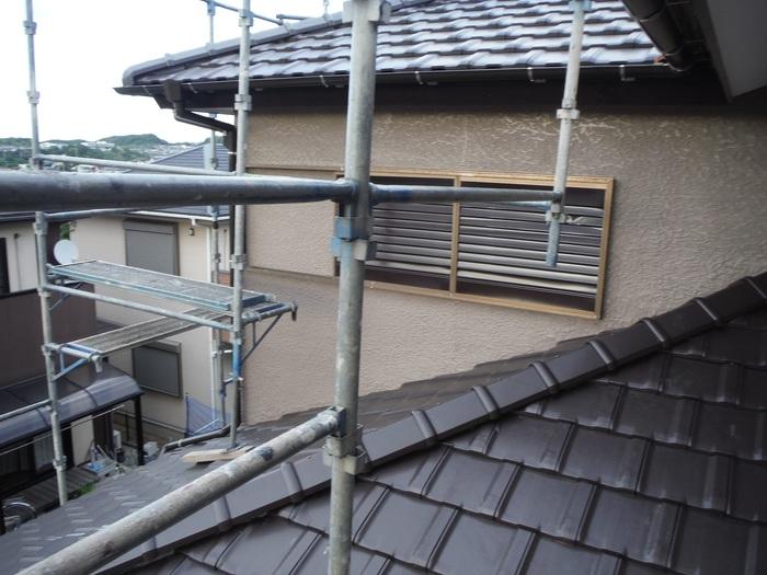 瓦屋根葺き替えと外壁塗り替え ~ 工事終了となりました。_d0165368_4592342.jpg