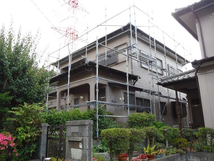 瓦屋根葺き替えと外壁塗り替え ~ 工事終了となりました。_d0165368_4594477.jpg