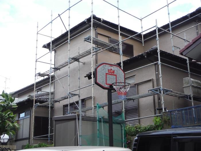 瓦屋根葺き替えと外壁塗り替え ~ 工事終了となりました。_d0165368_5057.jpg