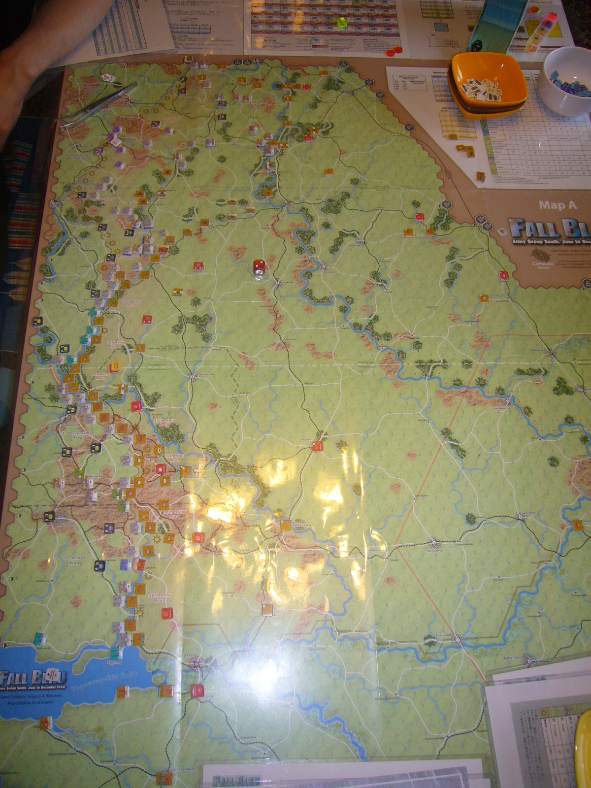 (Compass)FALL BLAU: Army Group South, June to December 1942 青作戦:史実の7月キャンペーンお試し5人戦➋_b0173672_19524885.jpg