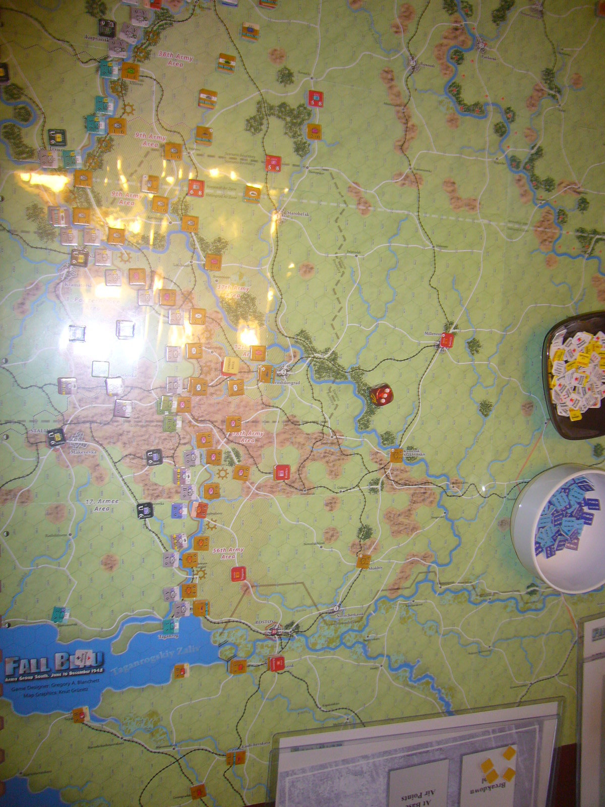(Compass)FALL BLAU: Army Group South, June to December 1942 青作戦:史実の7月キャンペーンお試し5人戦➋_b0173672_19525013.jpg