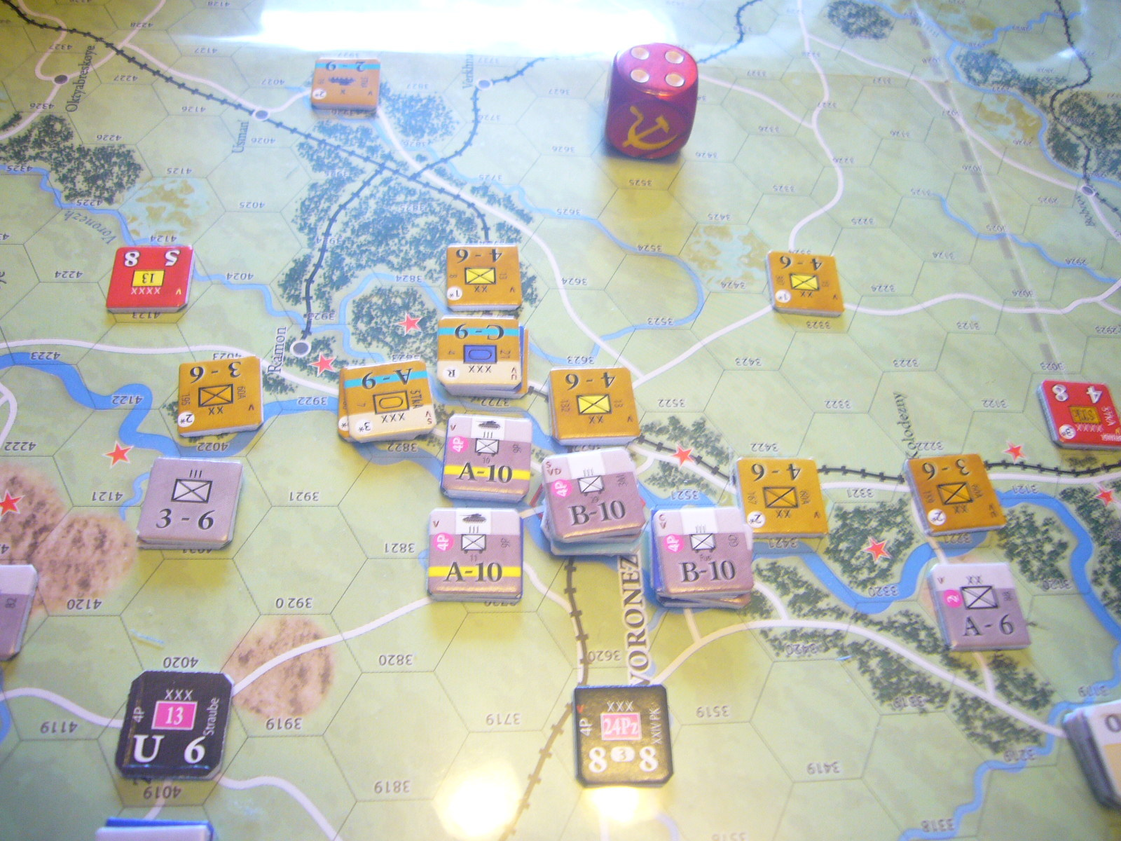 (Compass)FALL BLAU: Army Group South, June to December 1942 青作戦:史実の7月キャンペーンお試し5人戦➌_b0173672_19555826.jpg