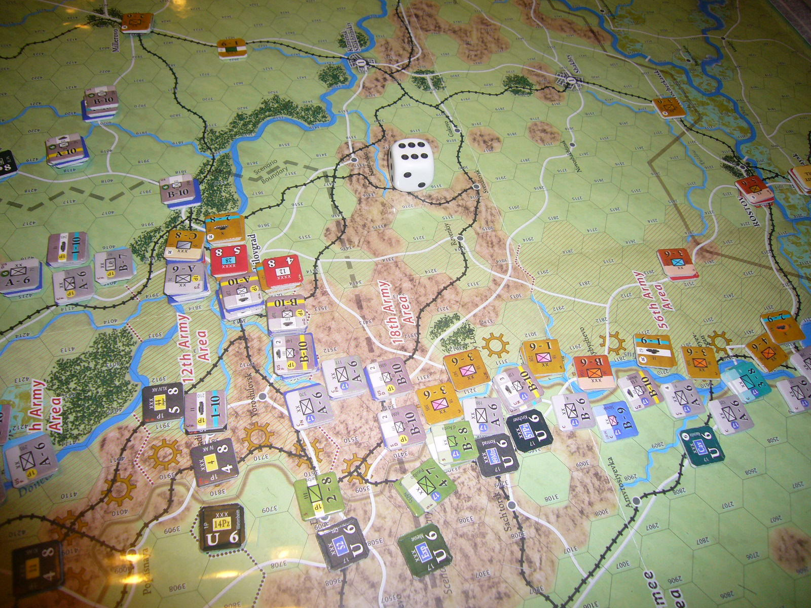 (Compass)FALL BLAU: Army Group South, June to December 1942 青作戦:史実の7月キャンペーンお試し5人戦➌_b0173672_19572739.jpg