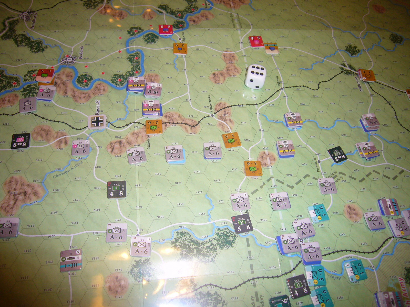 (Compass)FALL BLAU: Army Group South, June to December 1942 青作戦:史実の7月キャンペーンお試し5人戦➌_b0173672_19583114.jpg