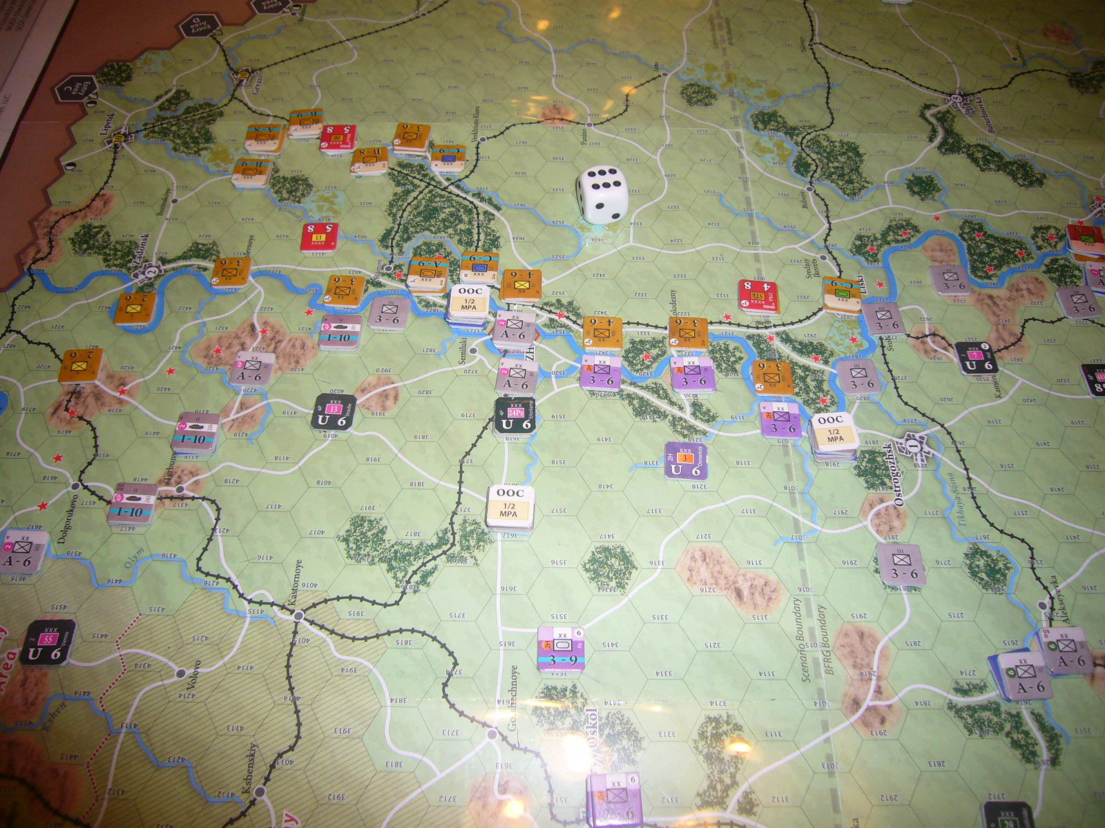 (Compass)FALL BLAU: Army Group South, June to December 1942 青作戦:史実の7月キャンペーンお試し5人戦➌_b0173672_19583204.jpg