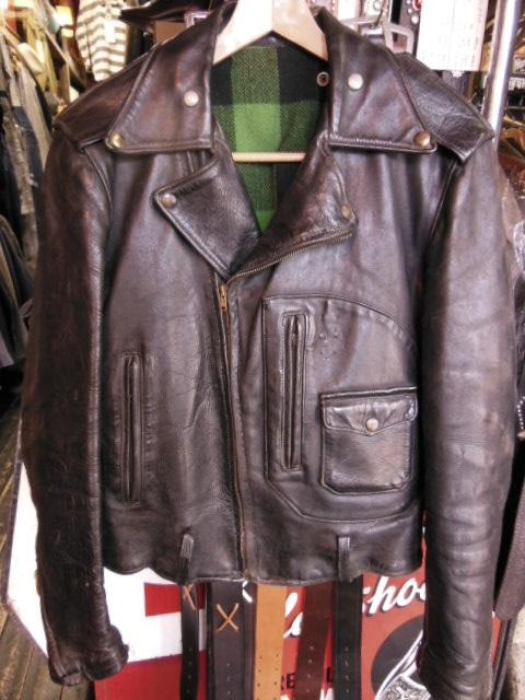 Spots custom work for Hercules horsehide jacket_c0187684_18323482.jpg