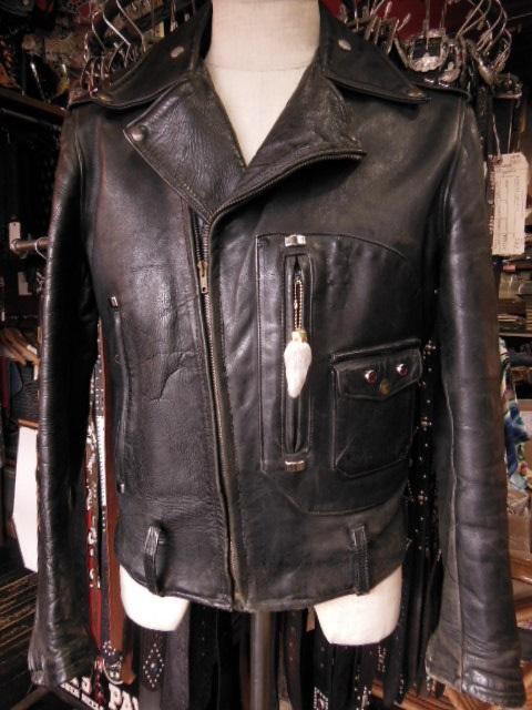 Spots custom work for Hercules horsehide jacket_c0187684_18332780.jpg