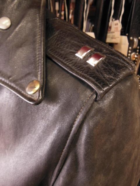 Spots custom work for Hercules horsehide jacket_c0187684_18335989.jpg
