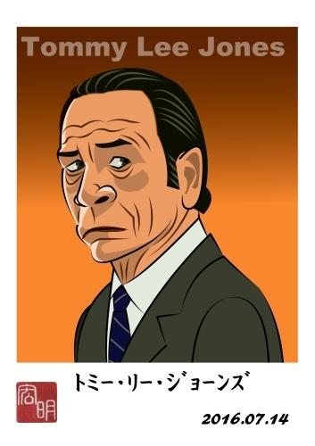 トミーリージョーンズさんを描きました。(A077)_f0337513_08260562.jpg