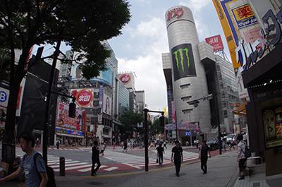 7月14日(木)今日の渋谷109前交差点_b0056983_11101319.jpg