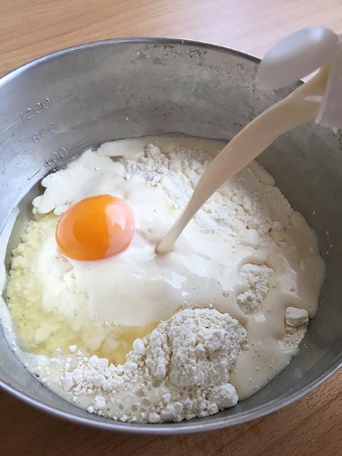 パンケーキを作る の巻_c0053520_22571464.jpg