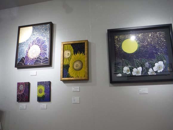 ギャラリーアートスープ企画展「夏の星まつり」PARTⅠ(The exhibition landscape PARTⅠ)_e0224057_921288.jpg