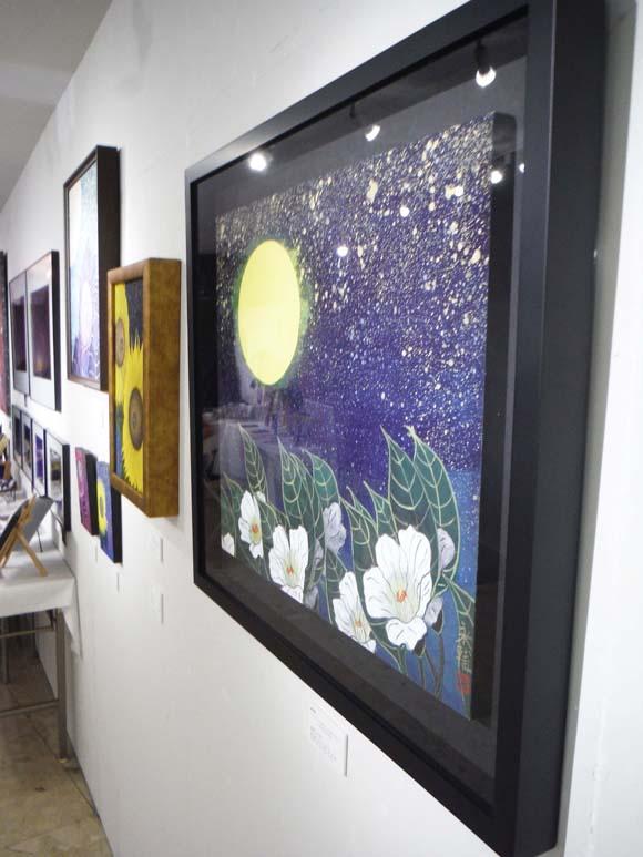 ギャラリーアートスープ企画展「夏の星まつり」PARTⅠ(The exhibition landscape PARTⅠ)_e0224057_9234419.jpg