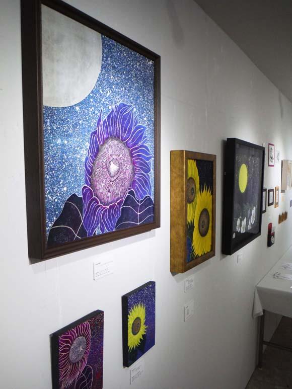ギャラリーアートスープ企画展「夏の星まつり」PARTⅠ(The exhibition landscape PARTⅠ)_e0224057_9235274.jpg