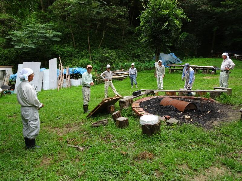 涼しいので間伐作業をしました・・・孝子の森  by  (TATE-misaki)_c0108460_21492358.jpg
