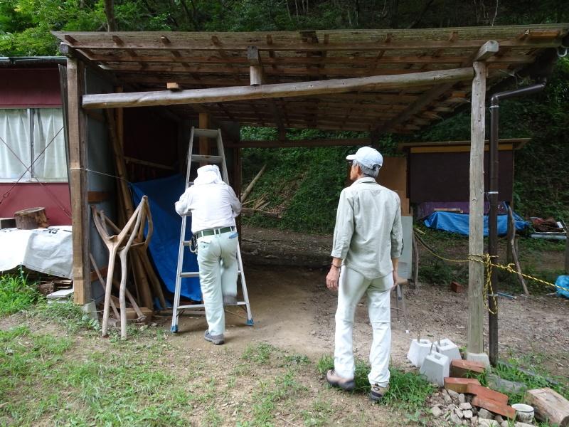 涼しいので間伐作業をしました・・・孝子の森  by  (TATE-misaki)_c0108460_21492682.jpg