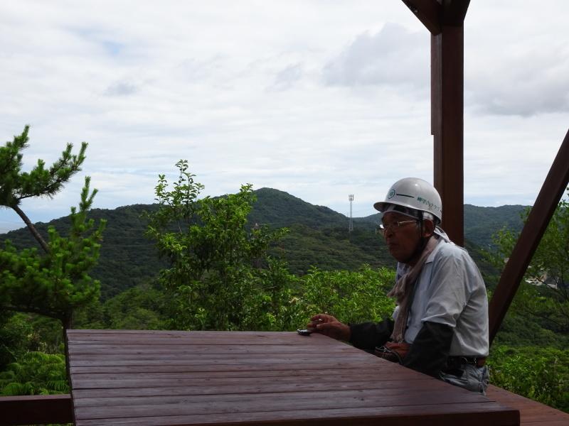 涼しいので間伐作業をしました・・・孝子の森  by  (TATE-misaki)_c0108460_21582057.jpg