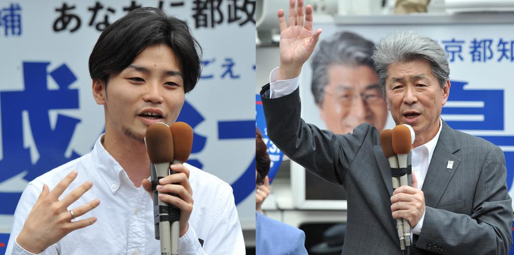 都知事選 鳥越俊太郎さんの第一声_b0190576_02124097.jpg