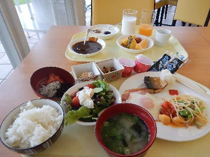 和歌山のホテルの朝食バイキング_e0077899_9263382.jpg