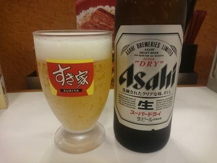 7/15 うな丼健康セット¥930+瓶ビール¥290@すき家_b0042308_11294327.jpg