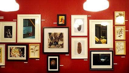 クー・ギャラリー『セレクト展』でのトークショー_f0165332_16152933.jpg