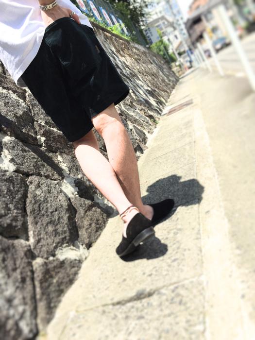 """Put on """"WYTHE"""" Short Pants ①_d0227059_18274161.jpg"""