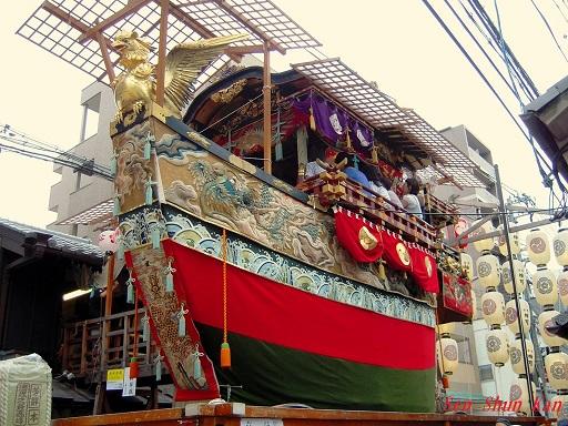 祇園祭 船鉾の「ちまき」 2016年7月16日_a0164068_2129222.jpg