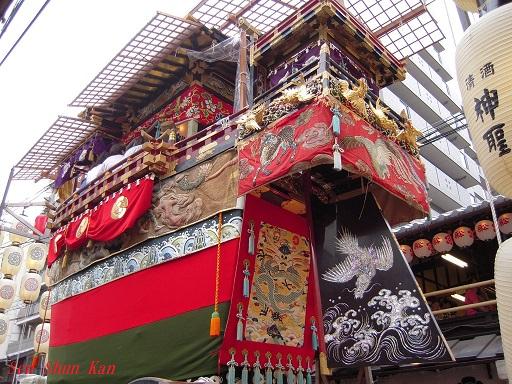 祇園祭 船鉾の「ちまき」 2016年7月16日_a0164068_21294727.jpg