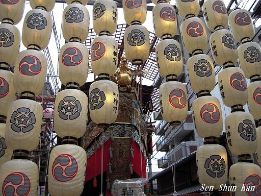 祇園祭 船鉾の「ちまき」 2016年7月16日_a0164068_2130430.jpg
