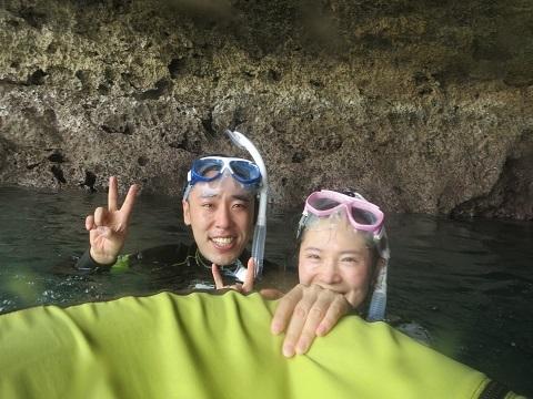 慶良間ファンダイビングからの~万座&青の洞窟シュノーケル!!_a0156273_16213588.jpg