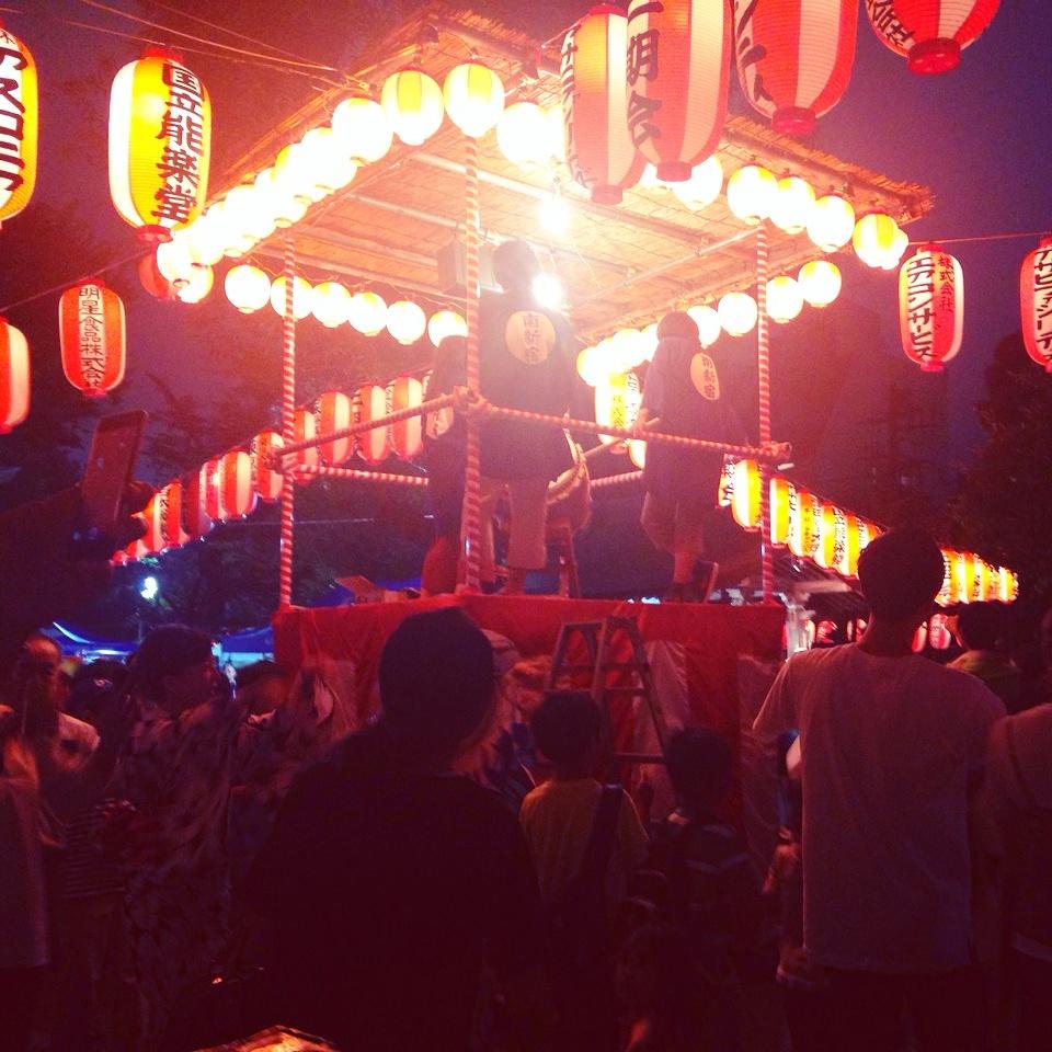 「姉さんと盆踊り」_a0075684_041864.jpg