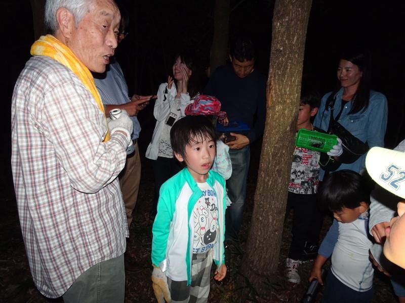 第1回「うみべの森でカブトムシを探そう!」_c0108460_01203523.jpg