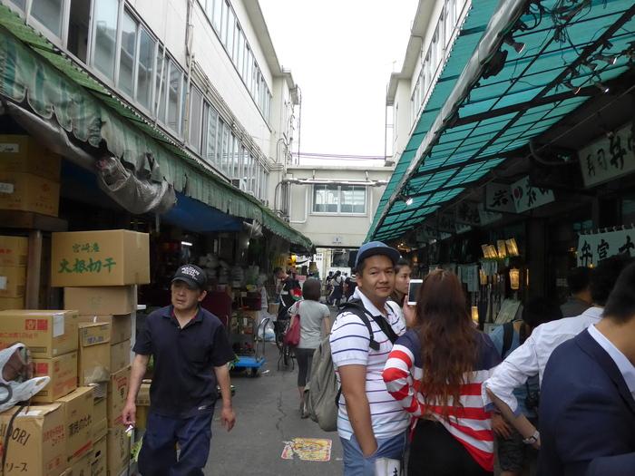 築地市場「玉子焼松露」と「築地幸軒」へ行く。_f0232060_20231576.jpg
