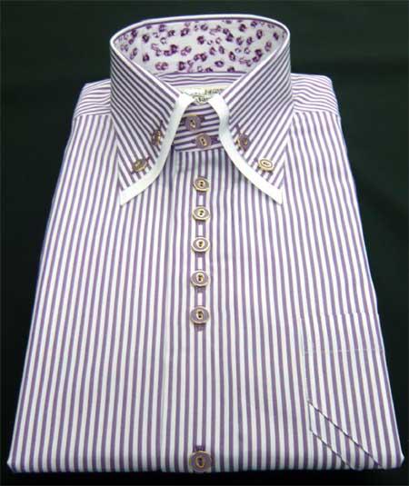 お客様のシャツ パープル_a0110103_11112491.jpg