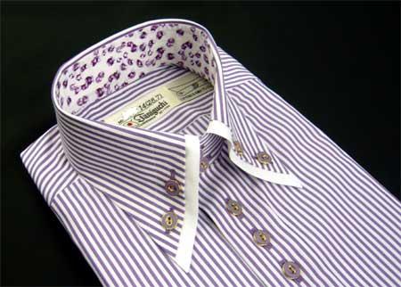 お客様のシャツ パープル_a0110103_11113763.jpg