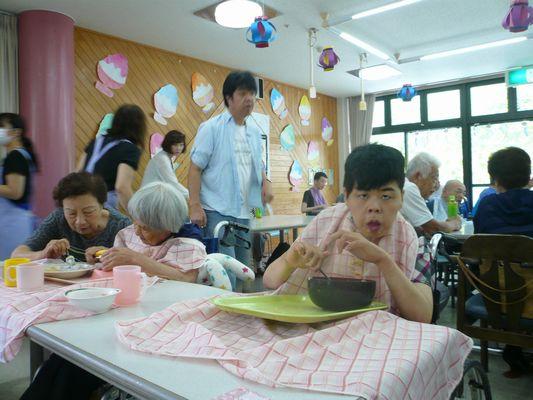 7/17 聖愛園夏祭り_a0154110_1453377.jpg