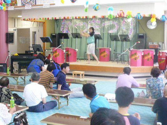 7/17 聖愛園夏祭り_a0154110_14534488.jpg