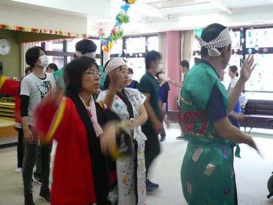 7/17 聖愛園夏祭り_a0154110_1456052.jpg