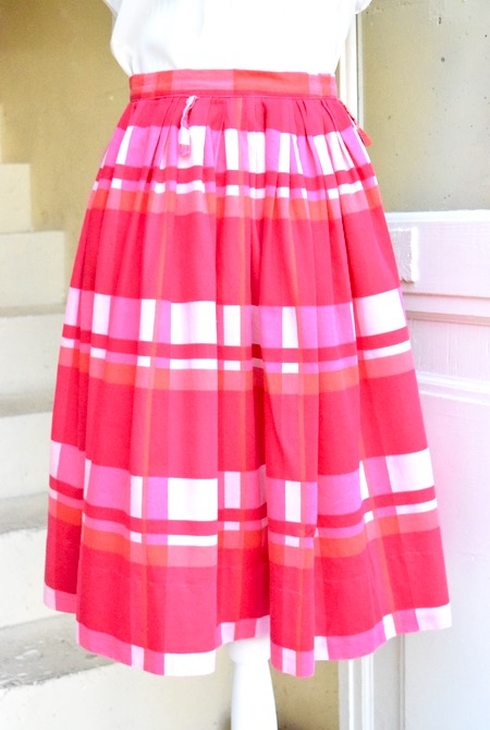 Summer lover♡Vintage cotto skirt_e0148852_1815952.jpg