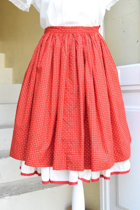 Summer lover♡Vintage cotto skirt_e0148852_18181377.jpg