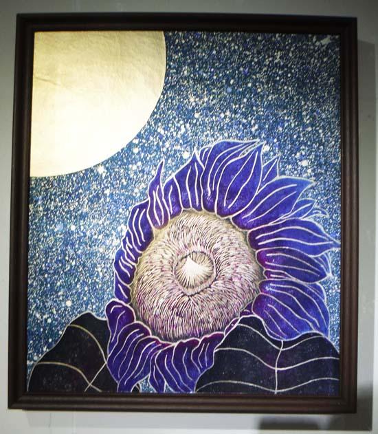 ギャラリーアートスープ企画展「夏の星まつり」PARTⅡ(The exhibition landscape PARTⅡ)_e0224057_18392326.jpg