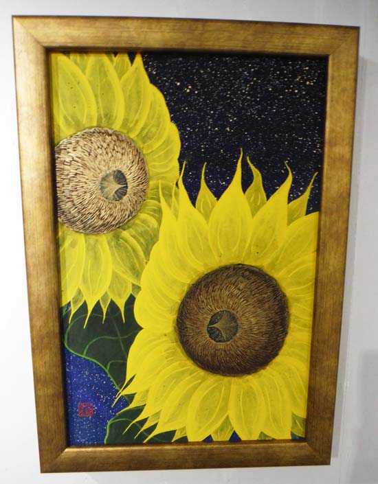 ギャラリーアートスープ企画展「夏の星まつり」PARTⅡ(The exhibition landscape PARTⅡ)_e0224057_18393533.jpg