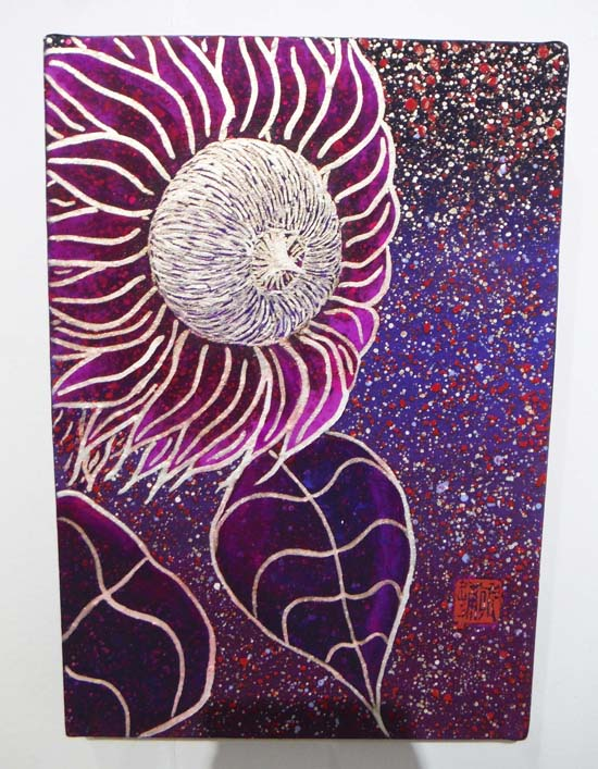 ギャラリーアートスープ企画展「夏の星まつり」PARTⅡ(The exhibition landscape PARTⅡ)_e0224057_18395321.jpg