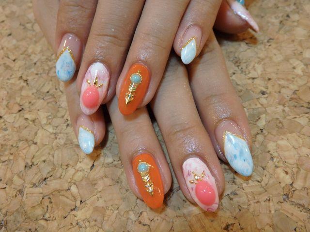 Marble Nail_a0239065_09521635.jpg