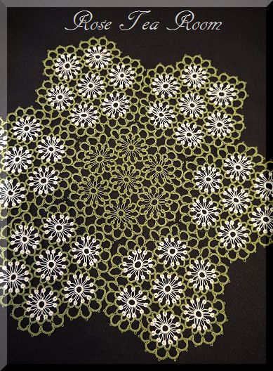 2素敵な! バラのお迎えテーブル&タティングレース~♪_a0159974_7264727.jpg