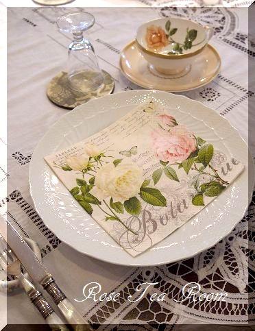 2素敵な! バラのお迎えテーブル&タティングレース~♪_a0159974_89495.jpg