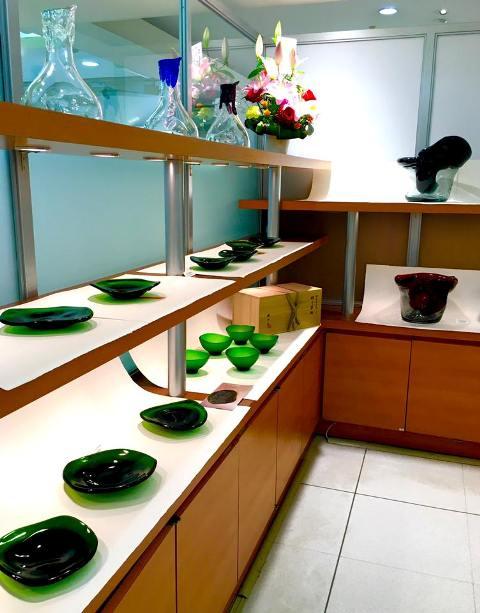 麹谷宏先生の『ガラスの雑器展』へ_a0138976_16524619.jpg