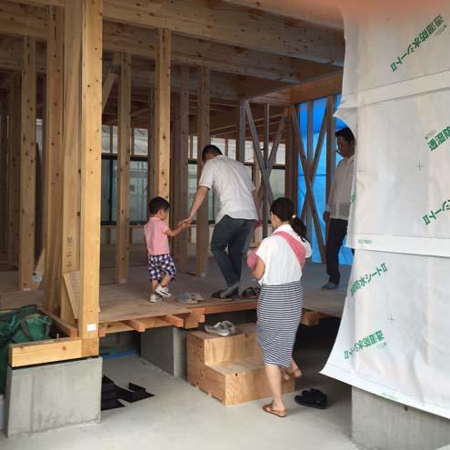 「HIKARI HOUSE」構造見学会 7/16・17_e0215179_10355045.jpg