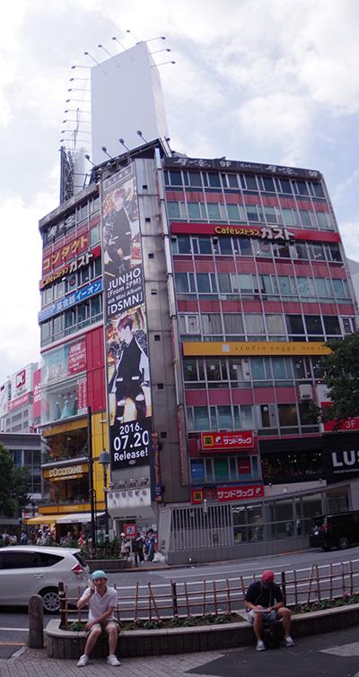 7月19日(火)今日の渋谷109前交差点_b0056983_16515716.jpg