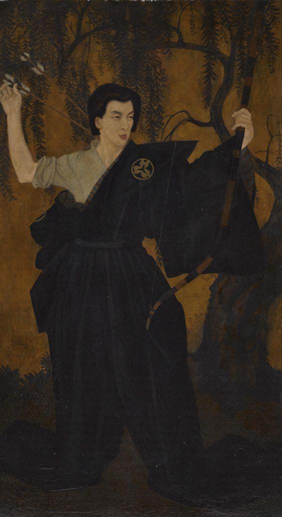 エドマンド・デュラック:日本人の肖像画_c0084183_21211510.jpg